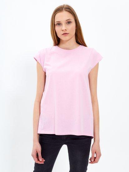 Tričko s rozparkom