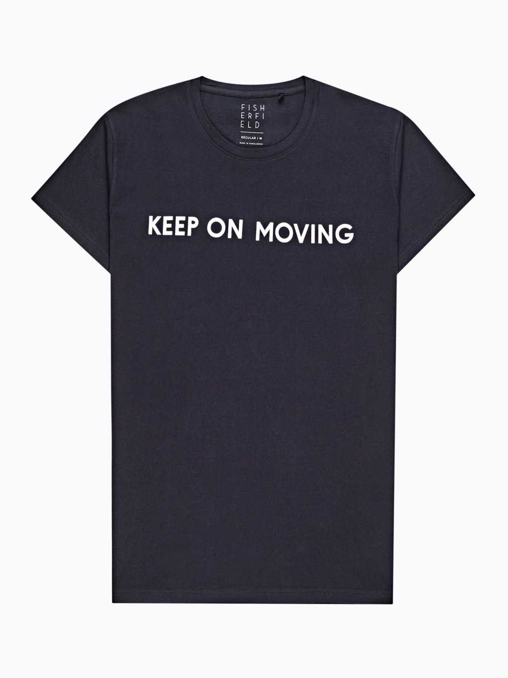 T-shirt with message print