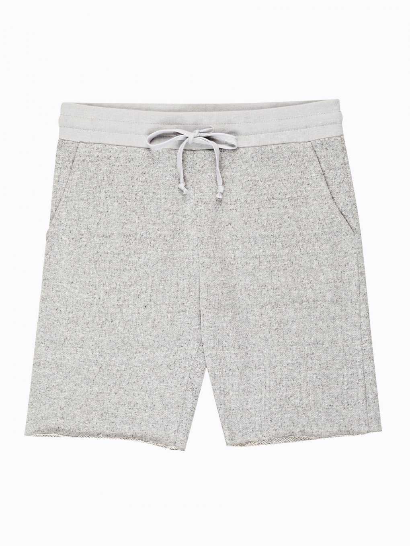 Basic marled sweatshorts