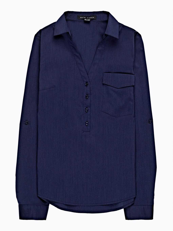 Basic stretch blouse