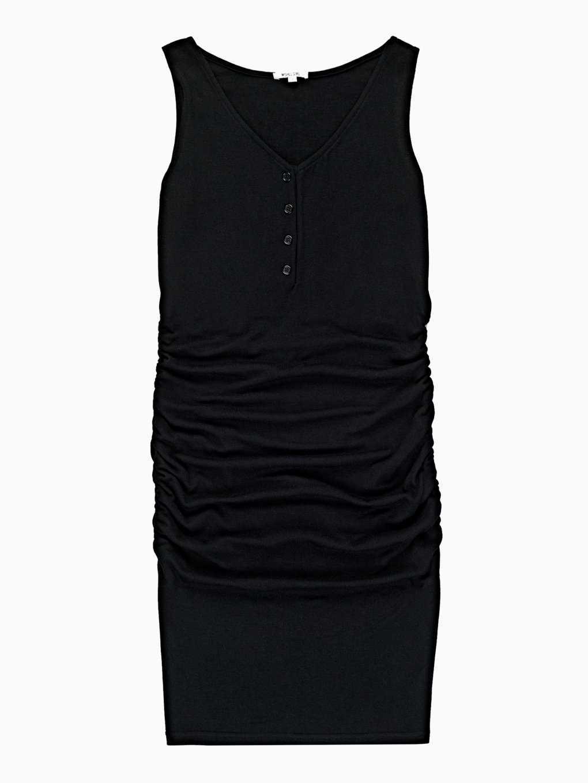 Pouzdrové šaty s knoflíky