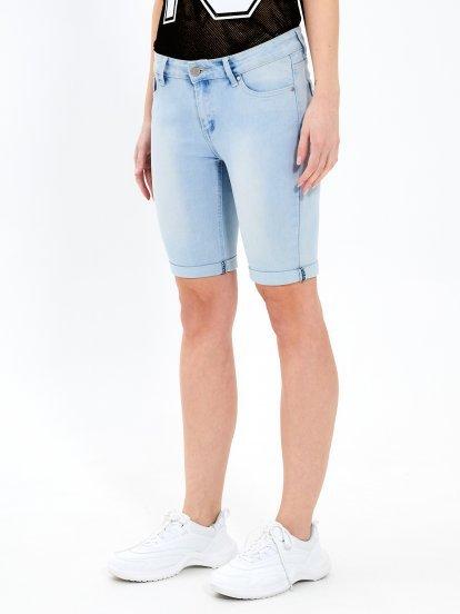 Denimowe szorty skinny