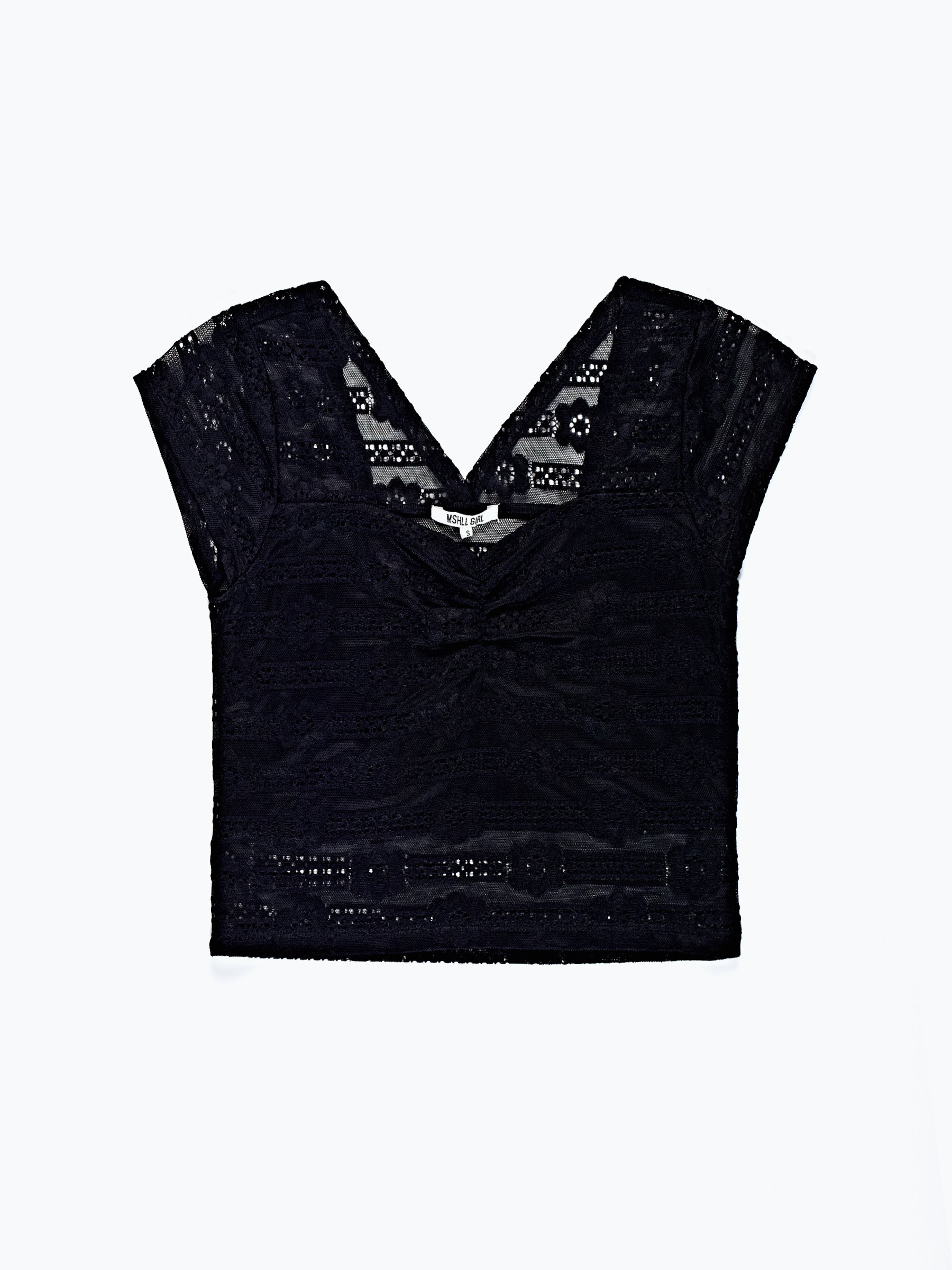 Choose Size NEW A/'gaci Women/'s Black//White Stripe Pattern Tie Wrap Crop Top