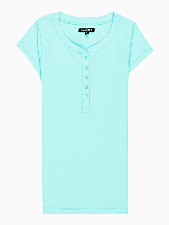 Basic koszulka z guzikami
