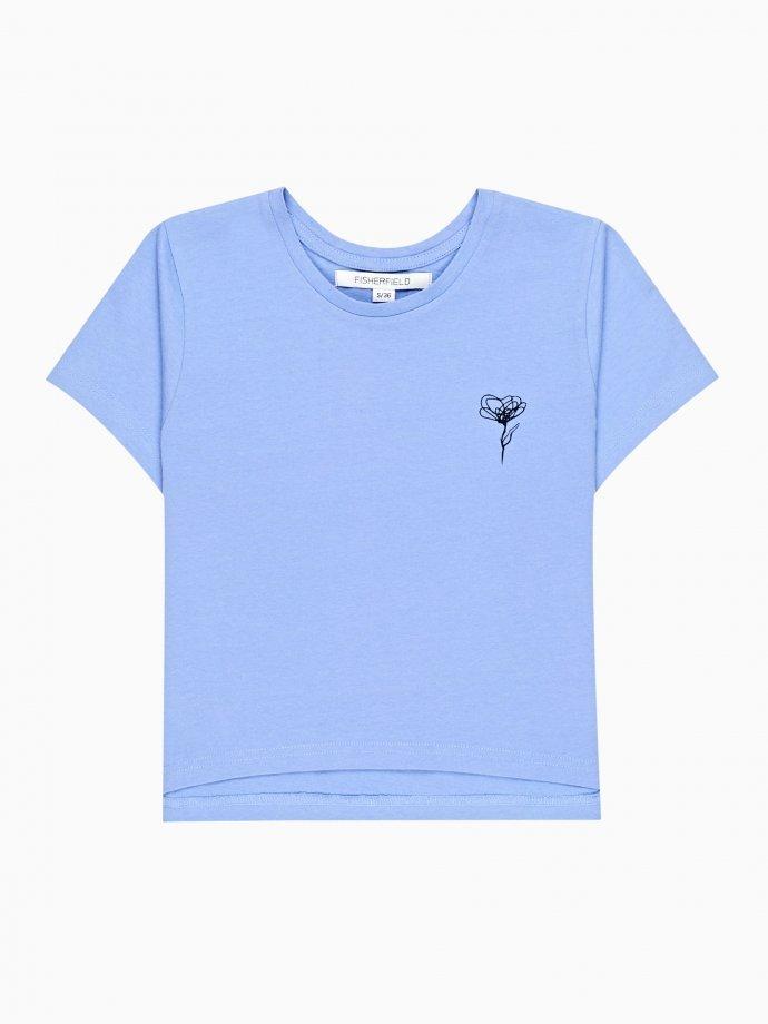 Krátke tričko s potlačou