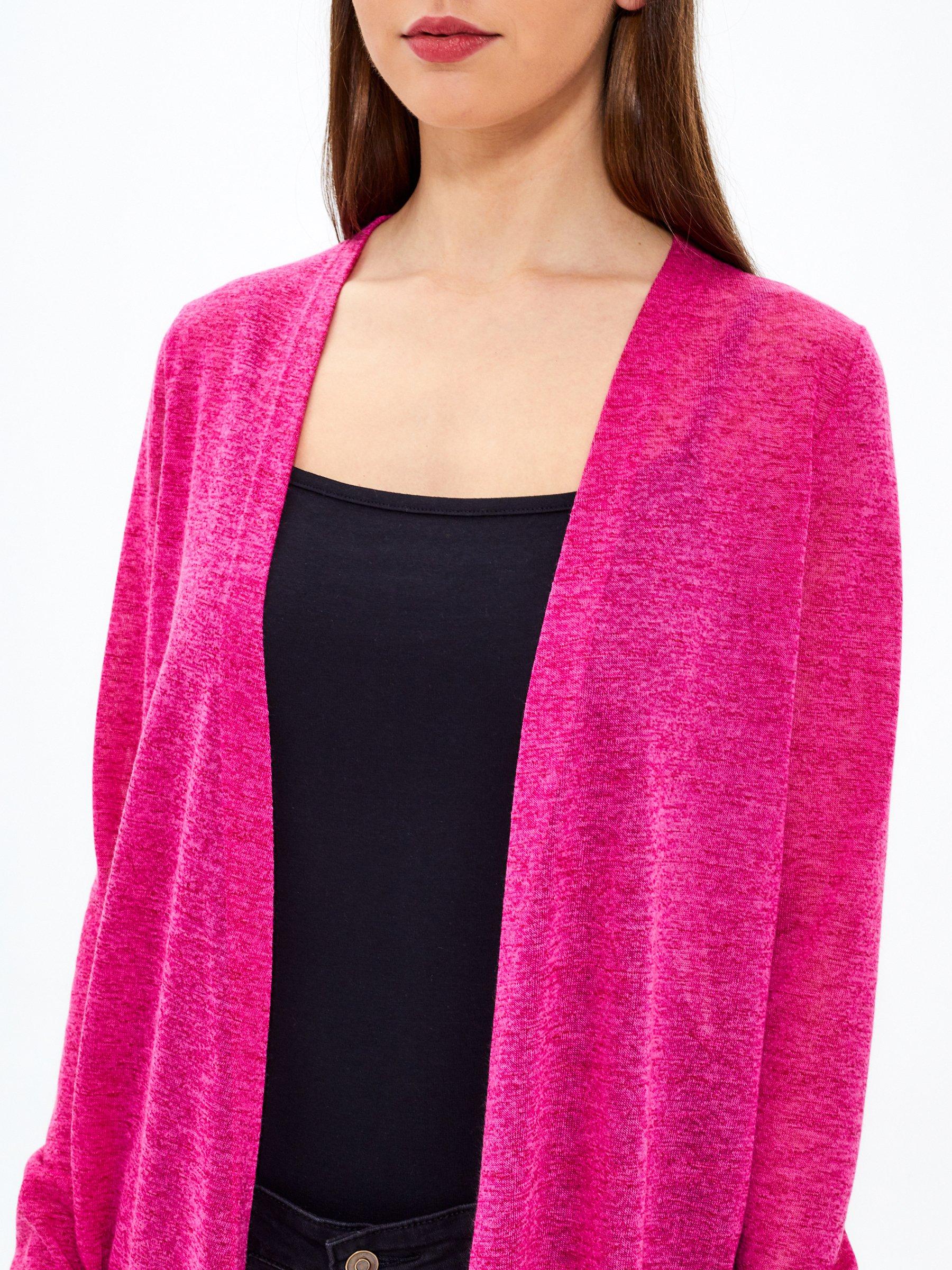 7,98 €, | Plain longline cardigan
