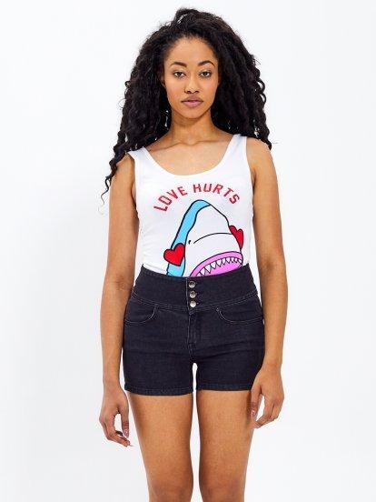 Bodysuit with print