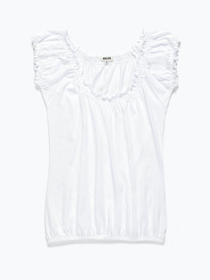 Drapowana koszulka