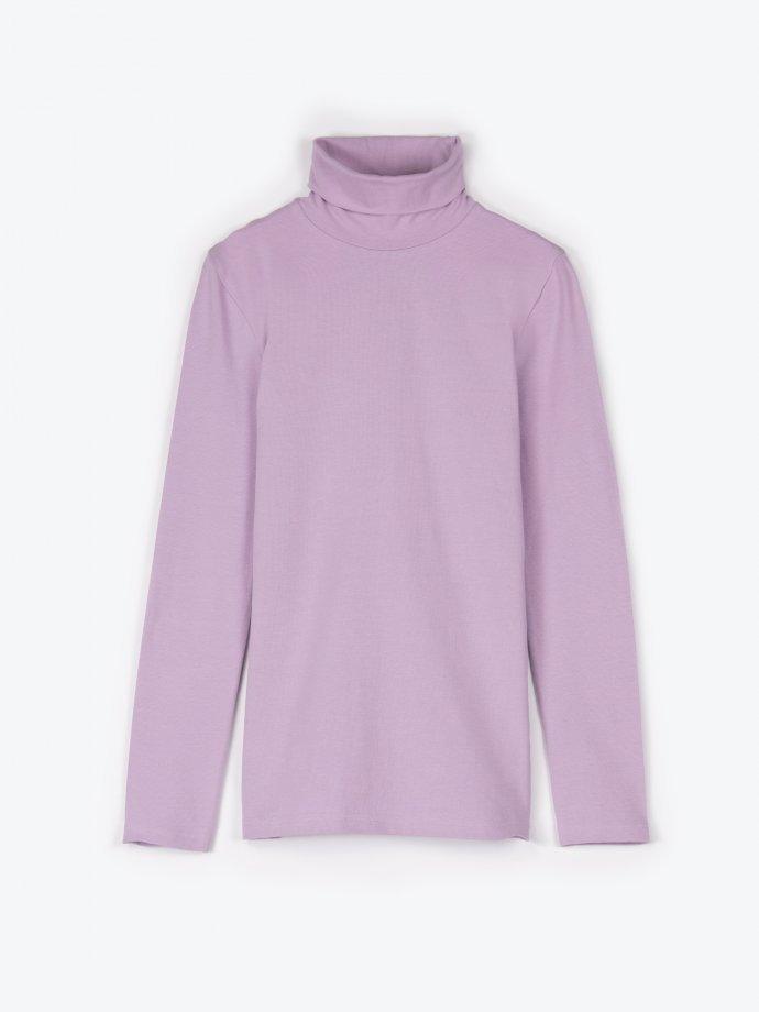 Basic turtleneck t-shirt