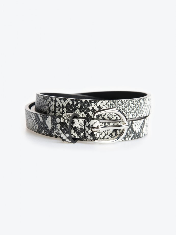 Animal pattern belt