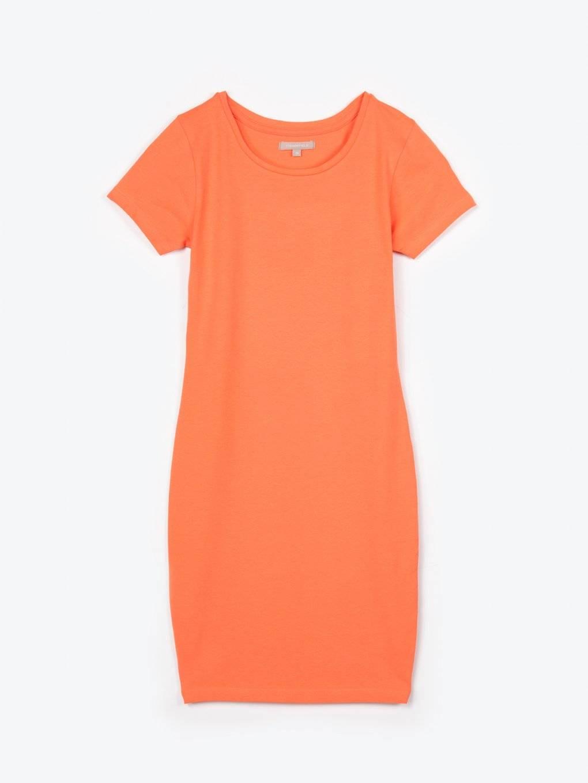 Basic stretch jersey dress