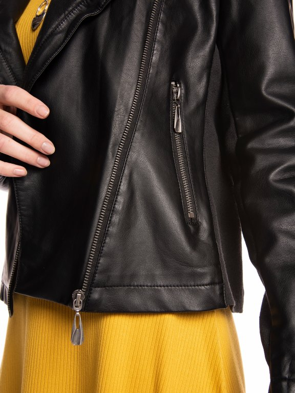 Kombinovaná motorkárska bunda