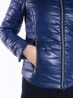 Vatovaná prešívaná bunda
