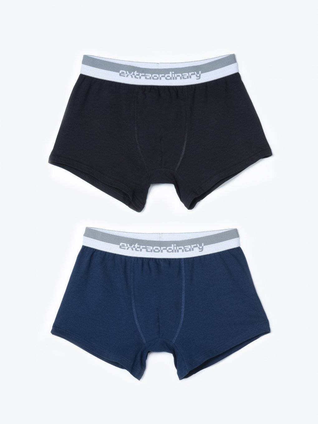 2-pack knit boxers