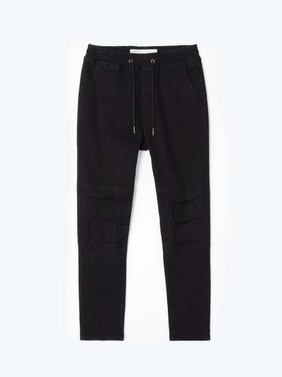 Destroyed trousers