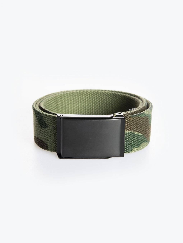 Camo print belt