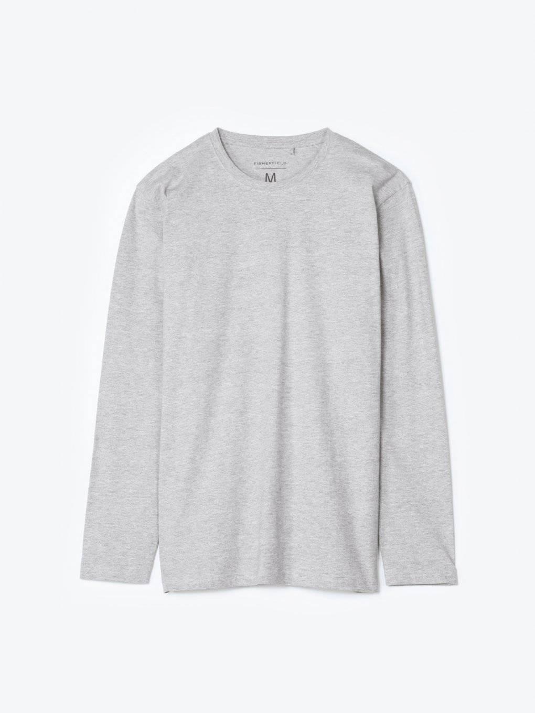 Základné džersejové tričko s dlhým rukávom