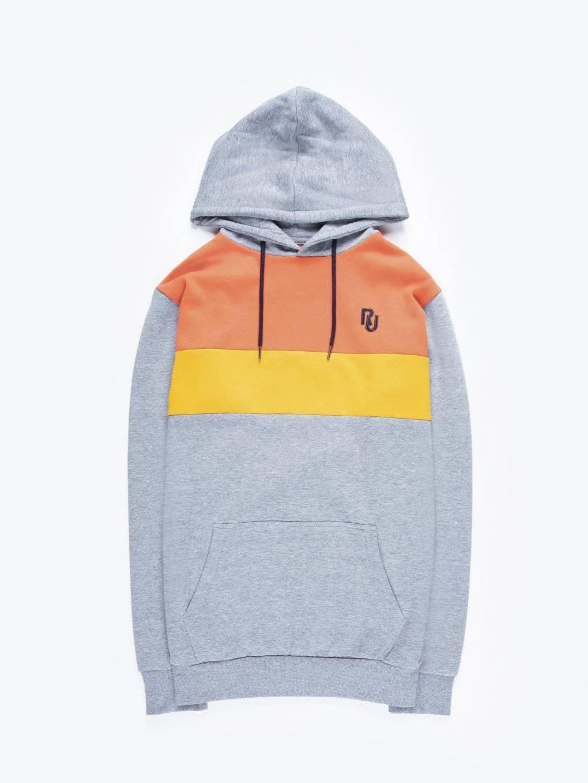 Paneled hoodie