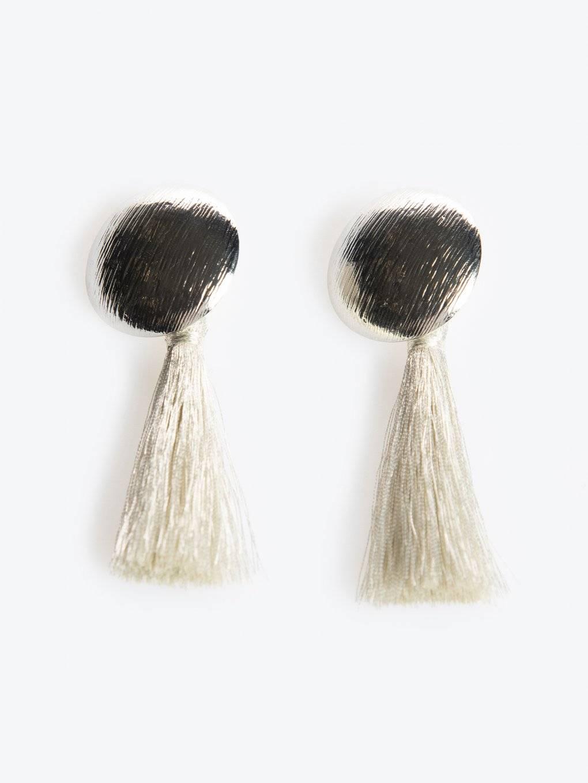 Visiace náušnice so strapcami