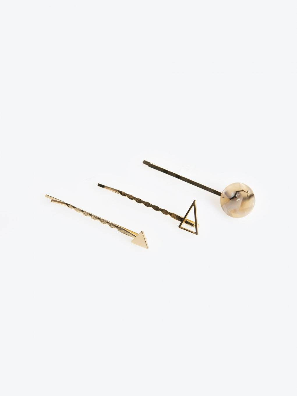 Set of 3 hairgrips
