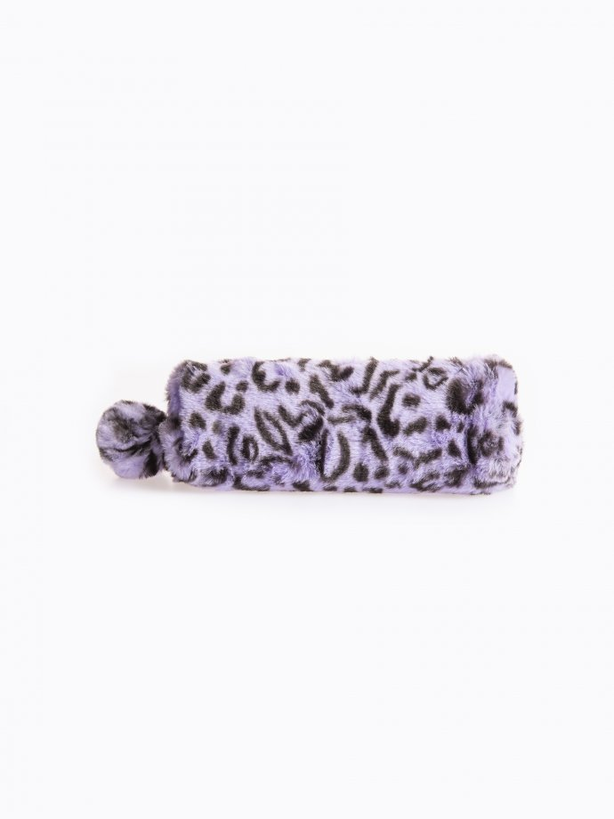 Pencil case with animal design