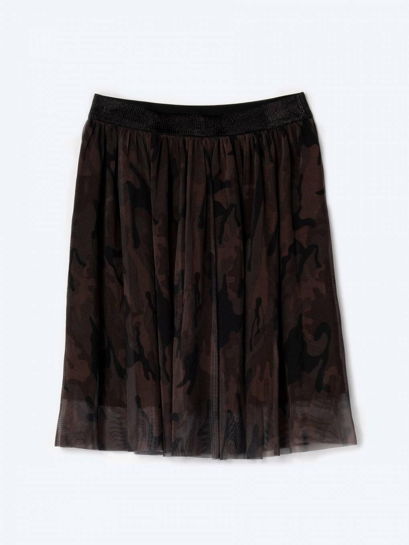 Camo print skirt