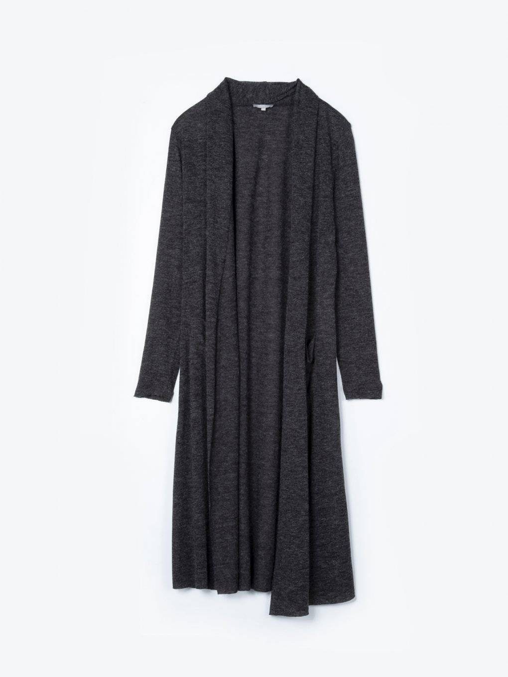 Longline cardigan with pockets