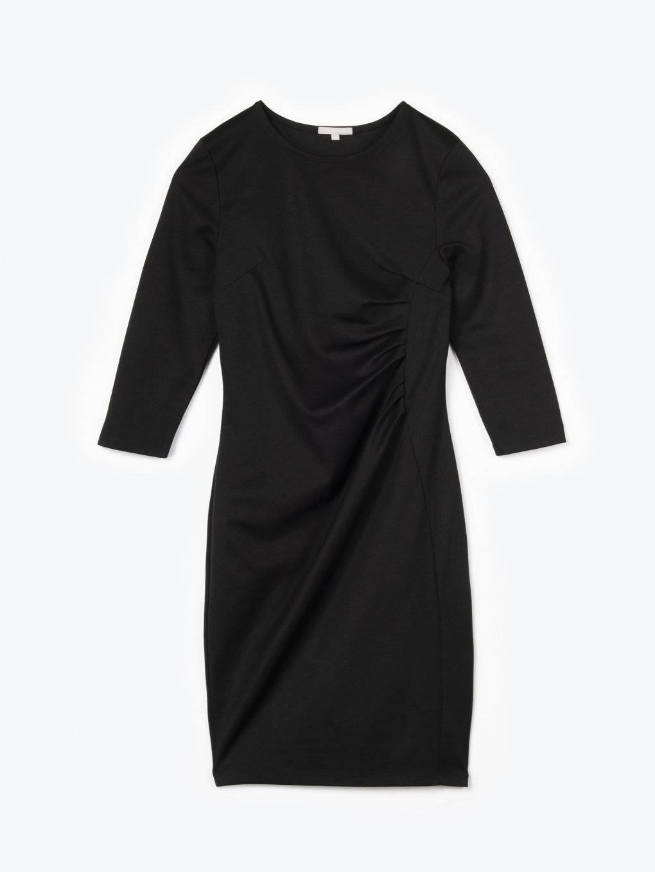 Front drapery dress