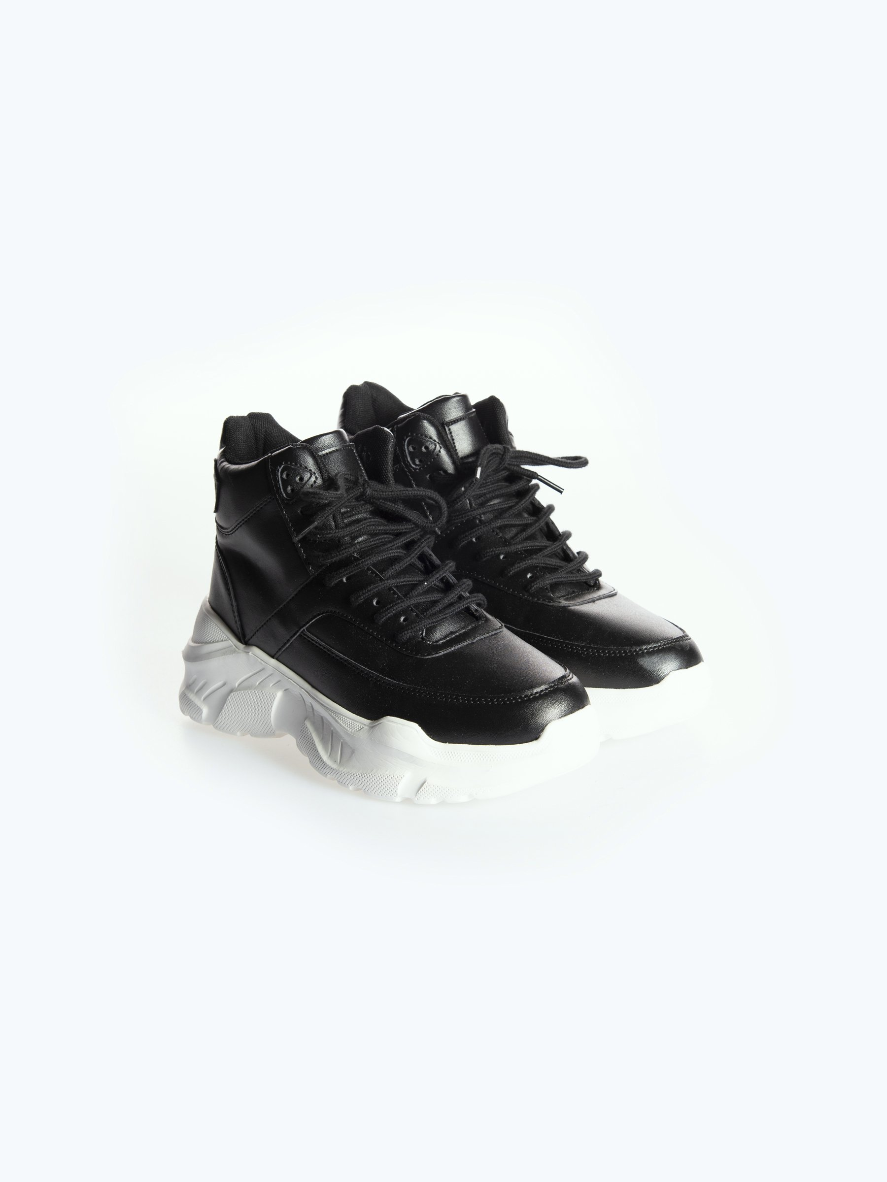 High-top chunky sneakers | GATE