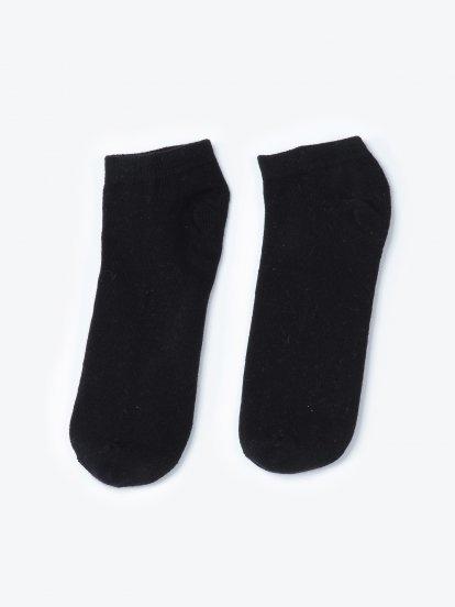 2-pack jacquard knit ankle socks