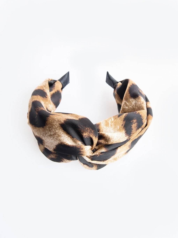 Animal print headdress