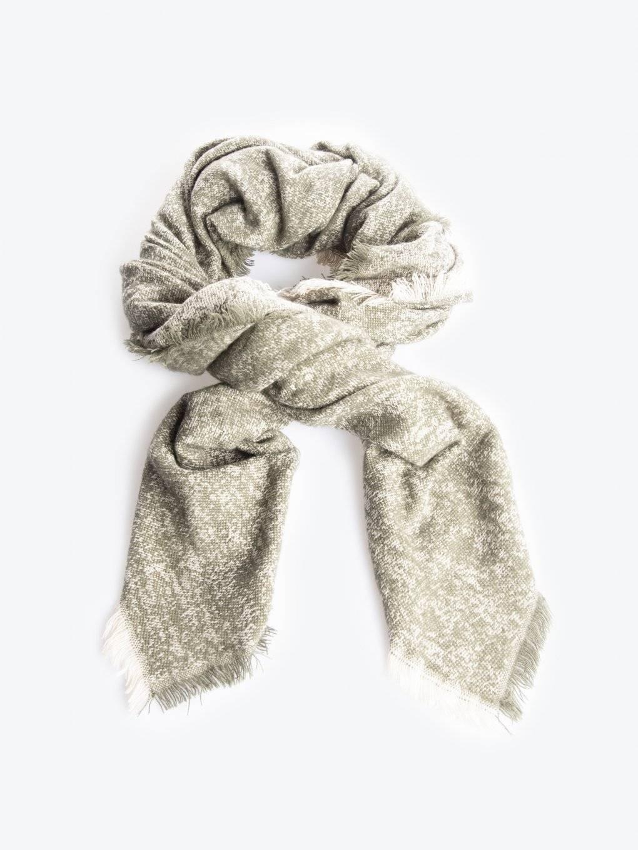 Marled scarf