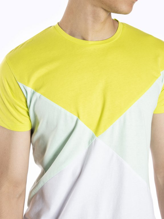Paneled t-shirt