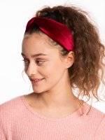 Velvet headdress