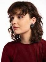 Earrings with animal design