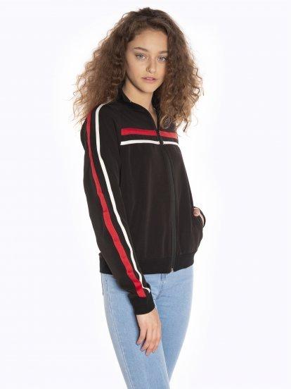 Vintage zip-up sweatshirt