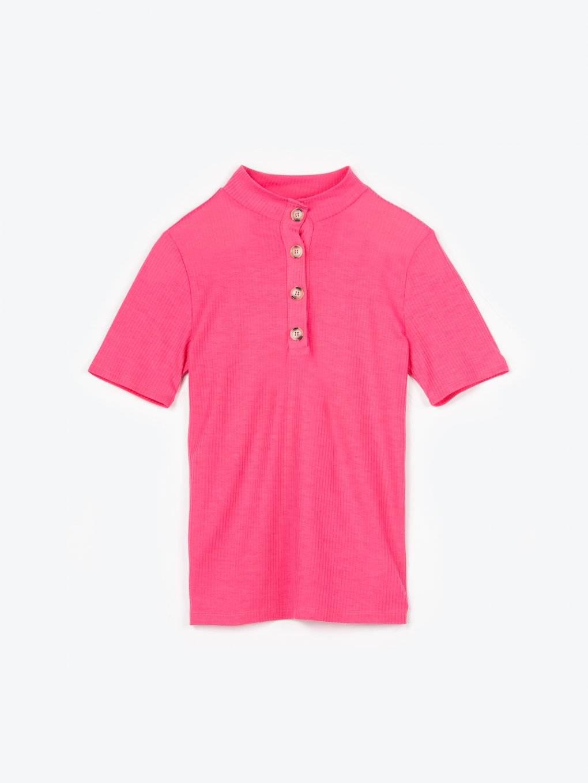 Button up t-shirt
