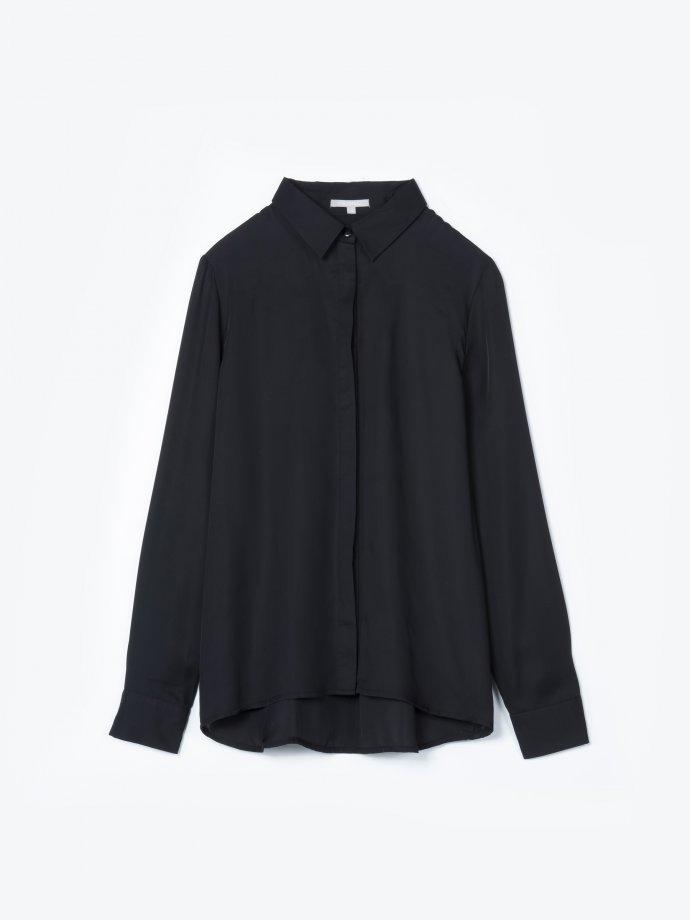 Satin loose fit blouse