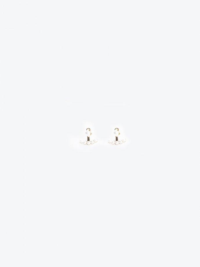Small pearl earrings