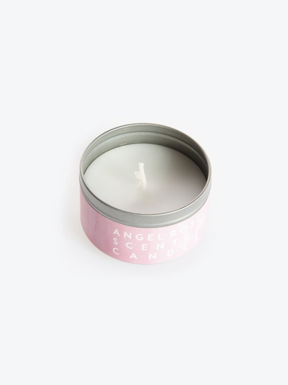 Angel flower scented candle  in a tin