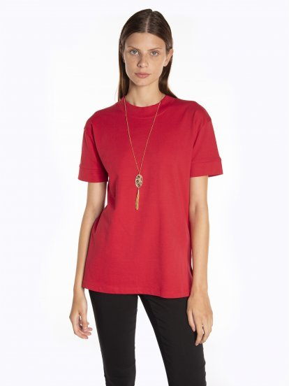 Basic oversized fit t-shirt