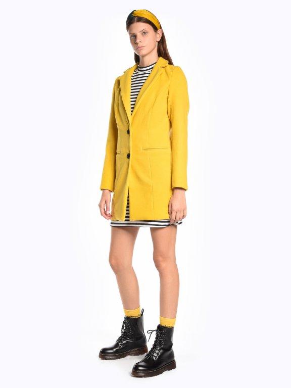 Basic blazer coat