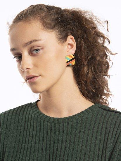 Colourfull earrings
