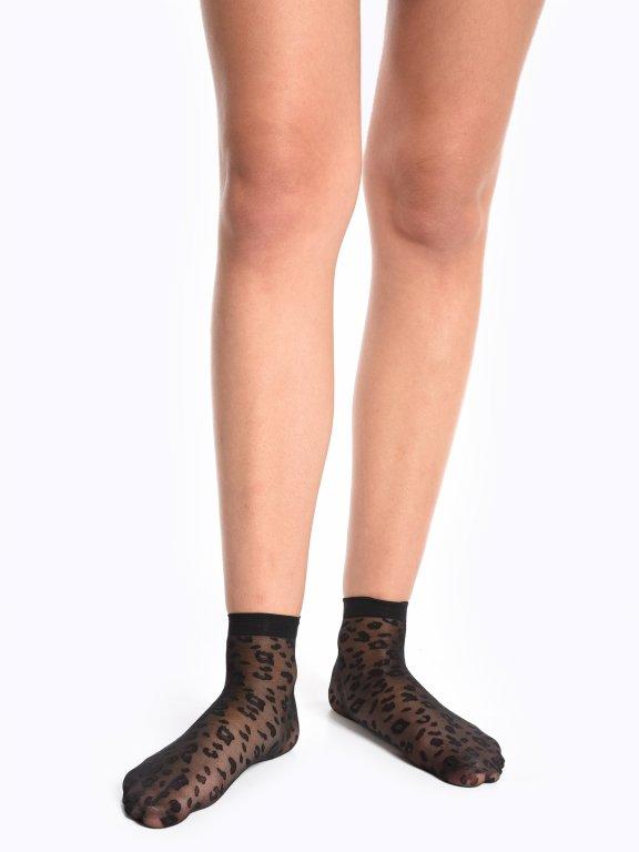 Animal design nylon socks