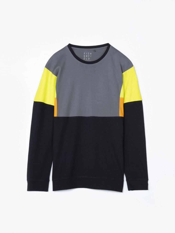Kolorowa koszulka z długim rękawem