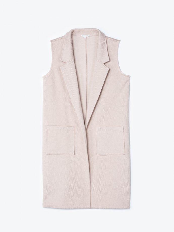 Longline waistcoat