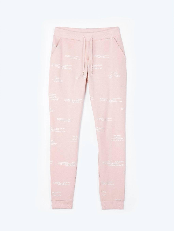Printed sweatpants