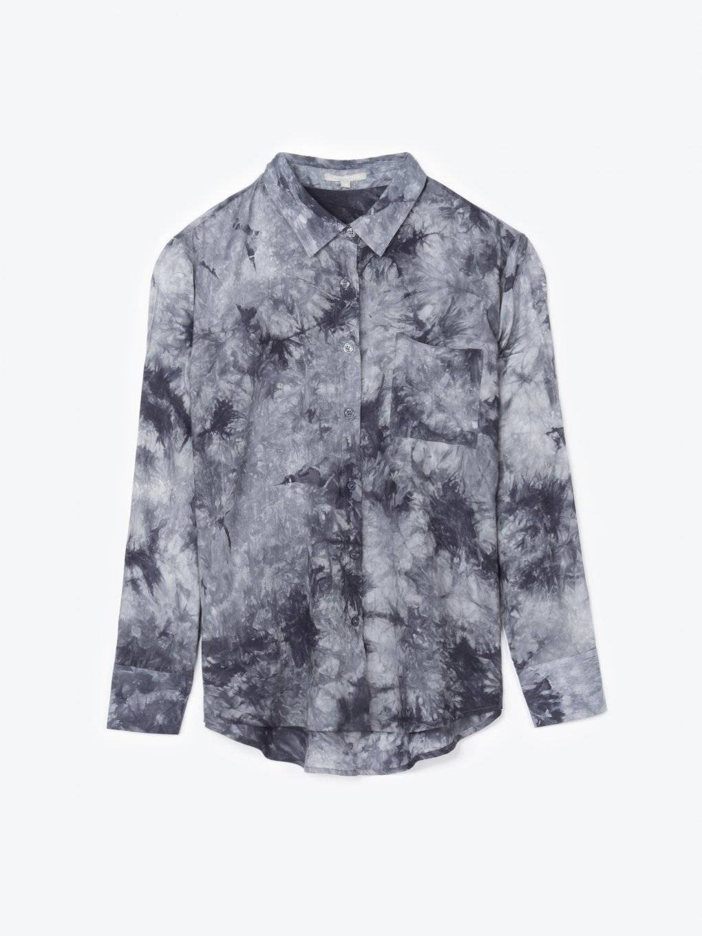 Tie dye oversized fit shirt