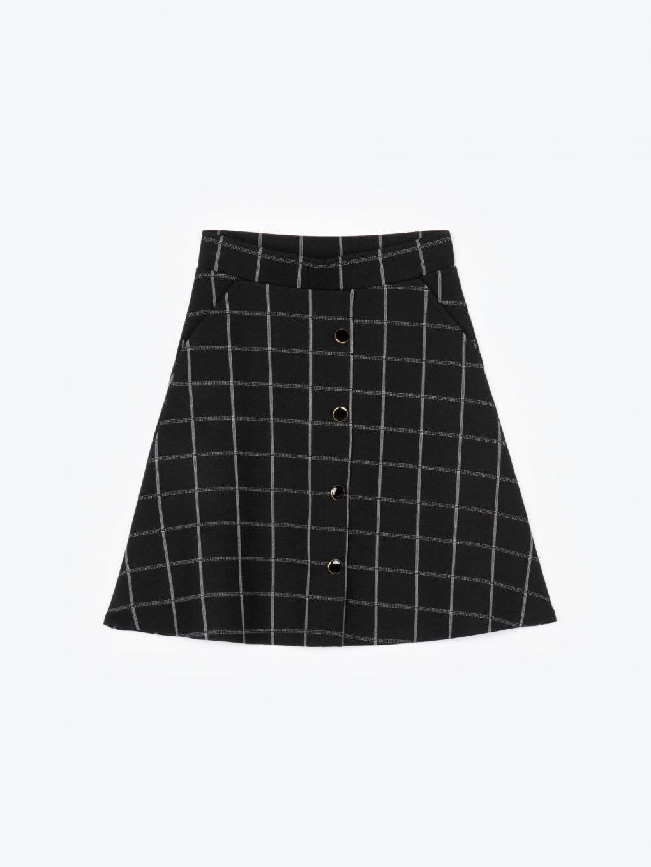 Áčková sukňa s vreckami