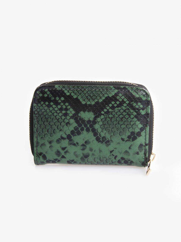 Snake skin effect wallet